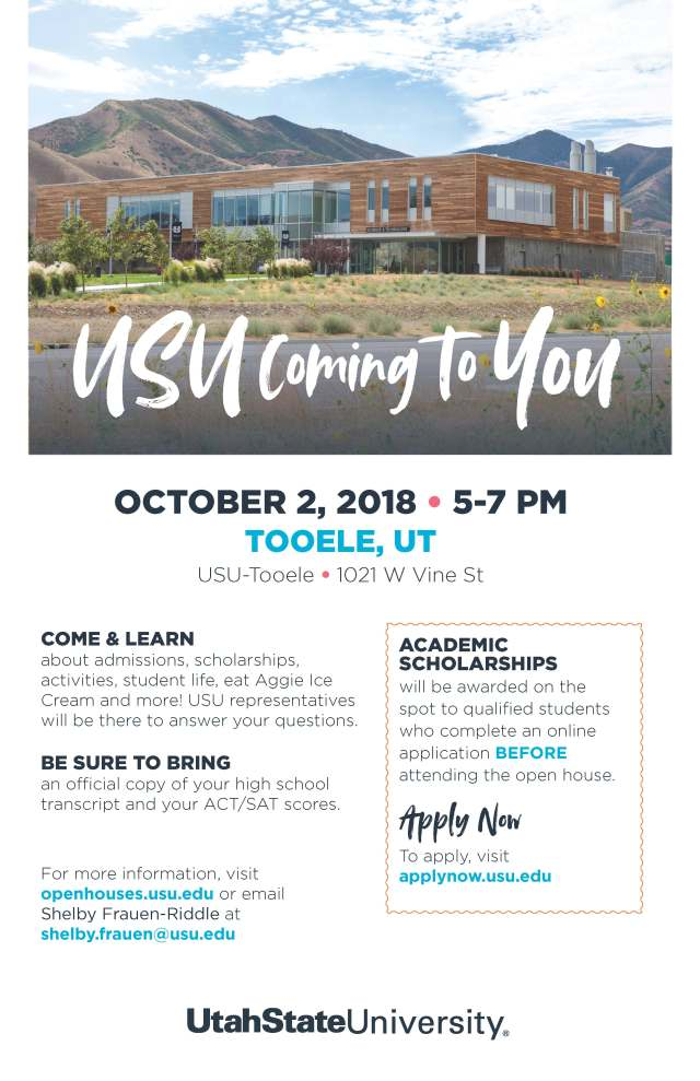 Tooele Open House 2018