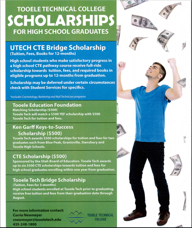 tooele tech scholarships