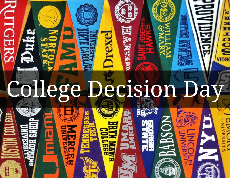 College Decision Day — TRiO Programs